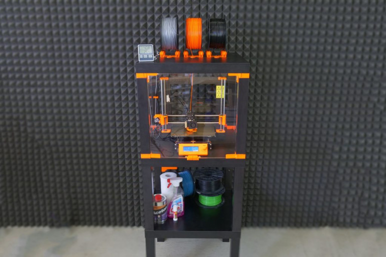 Prusa's LACK table enclosure.