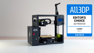 Featured image of LulzBot Mini 2 Review – Editor's Choice of Fall 2018