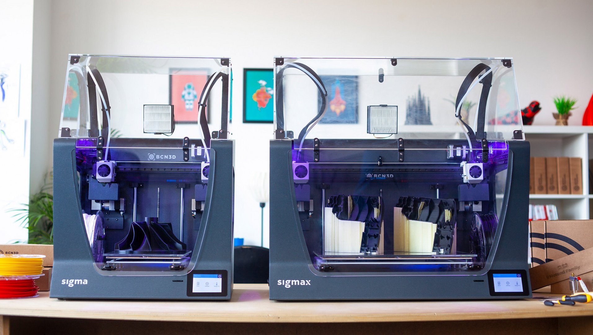 BCN3D Releases Sigma R19 & Sigmax R19 3D Printers | All3DP