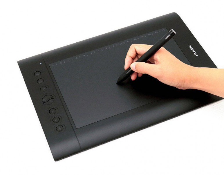 Image of Pad Tablet (Without Screen): Huion H610PRO