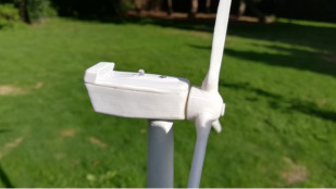 Featured image of Weekend Project: 3D Print Your Own Wind Turbine Model
