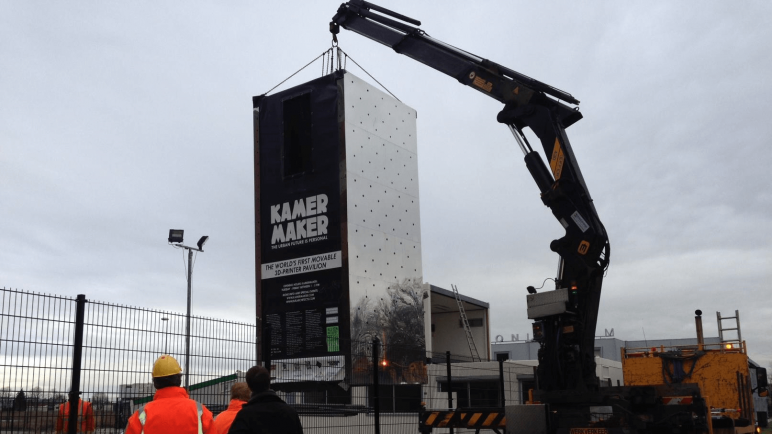 Image of 2018's Biggest & Most Expensive 3D Printers in the World: KamerMaker