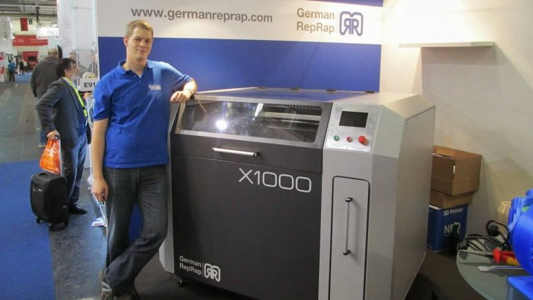 Image of 2018's Biggest & Most Expensive 3D Printers in the World: German RepRap X1000