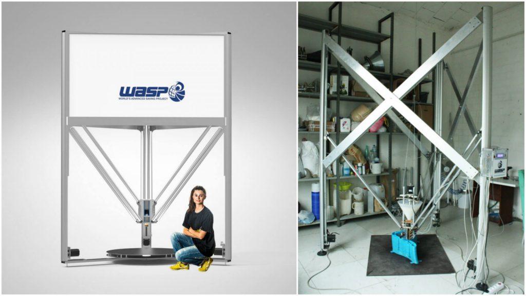 Large 3D Printer #28: The DeltaWASP 3MT