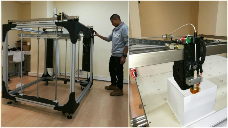 Image of 2018's Biggest & Most Expensive 3D Printers in the World: Moebyus Machines M3