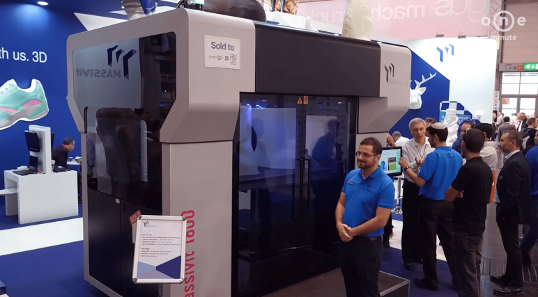 Image of 2018's Biggest & Most Expensive 3D Printers in the World: MASSIVit 1800