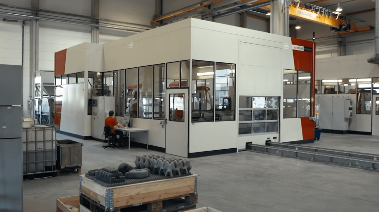 Image of 2018's Biggest & Most Expensive 3D Printers in the World: Voxeljet VX4000