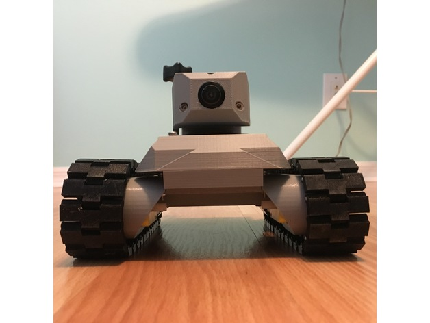 Front view of the Prototank.