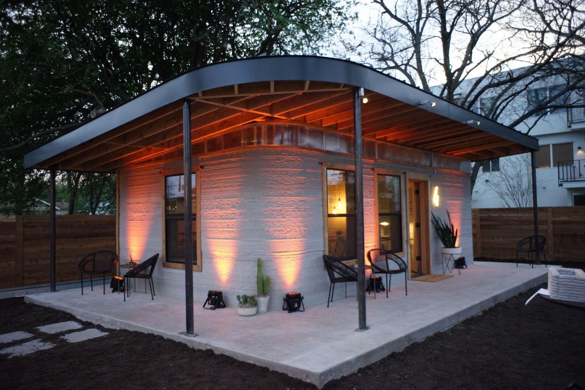Chi ha detto che una casa stampata in 3D non può essere elegante?