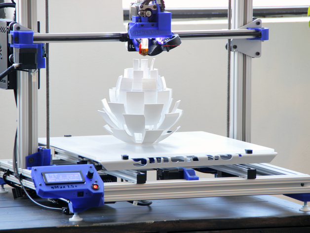 Printing the Artichoke Lamp.