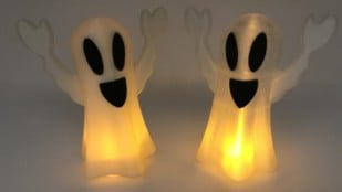Featured image of Weekend Project: Tell Scary Tales Over This 3D Printed Tea Light Ghost