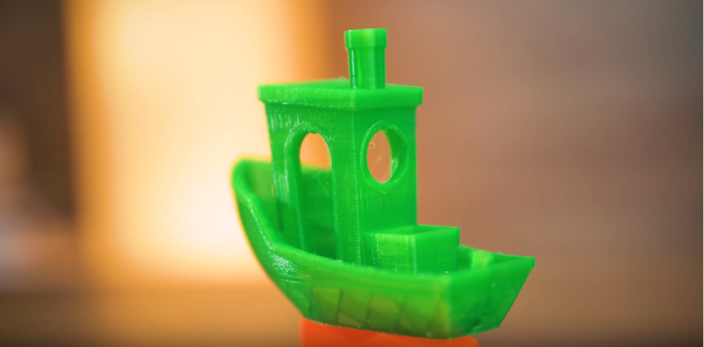 Benchy printed in PETG.