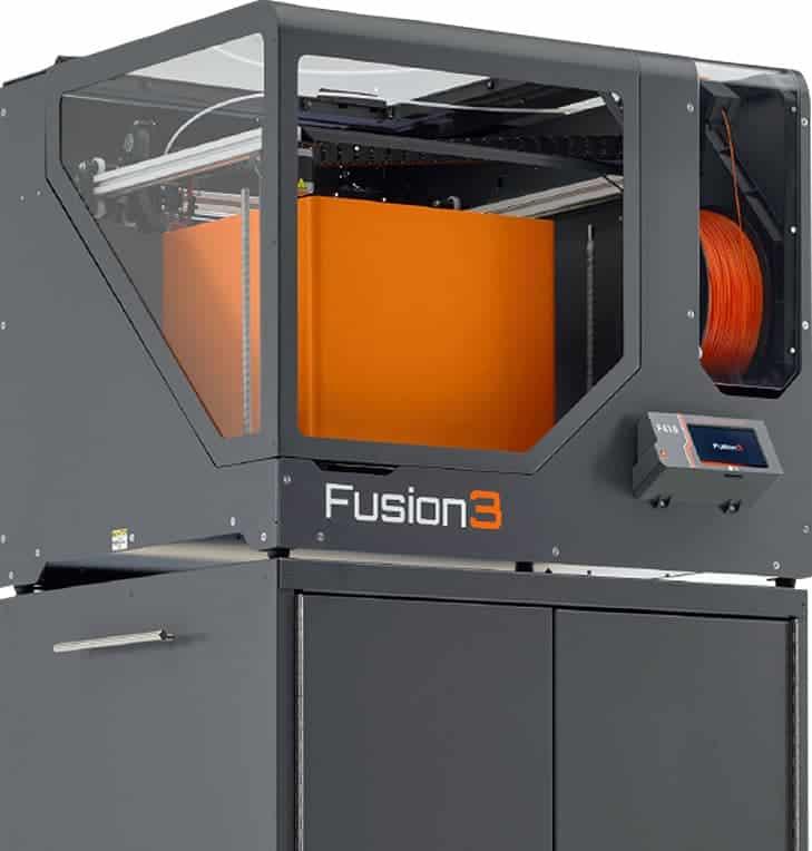 Image of Carbon Fiber 3D Printer Guide : Fusion3 F410
