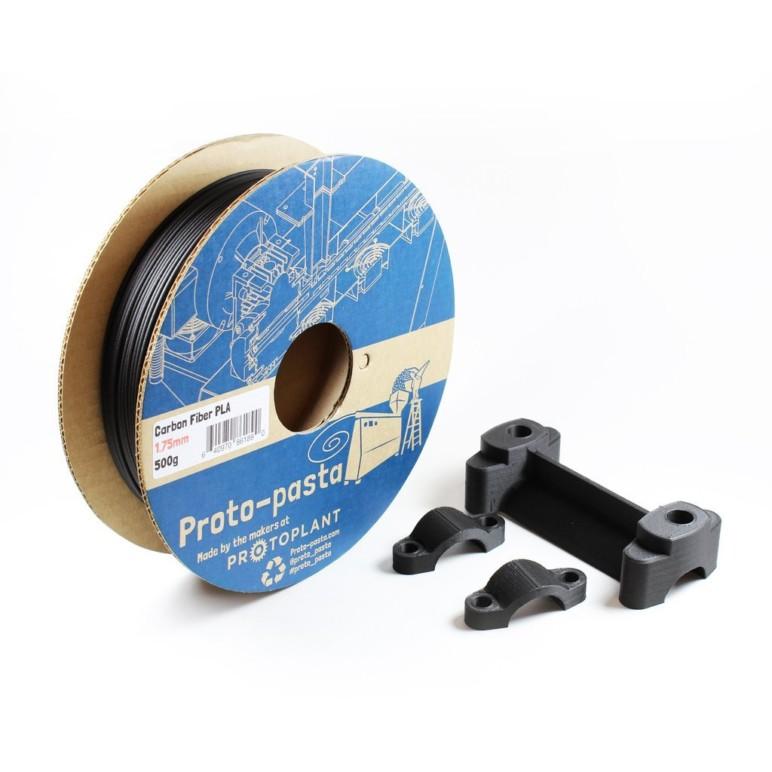 Image of Carbon Fiber 3D Printer Guide : Proto-pasta Carbon Fiber Filament
