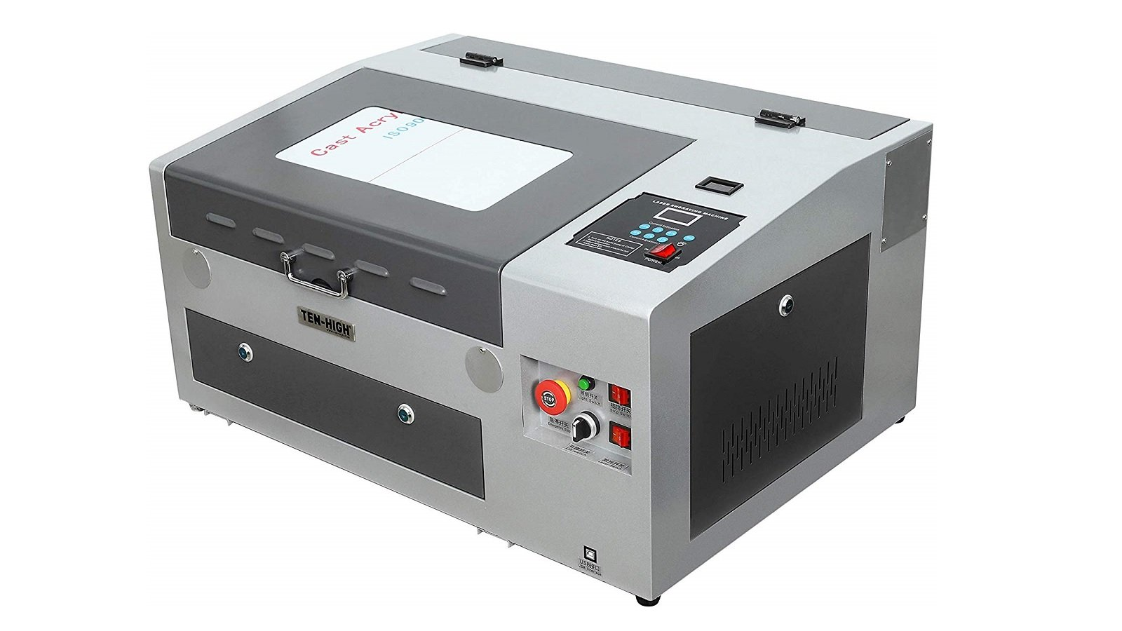 TEN-HIGH 40W Laser Engraving Machine – Review the Specs | All3DP