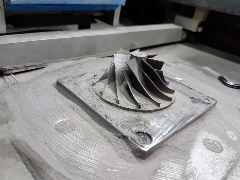 Image of LAR100 Laser Metal 3D Printer: Features