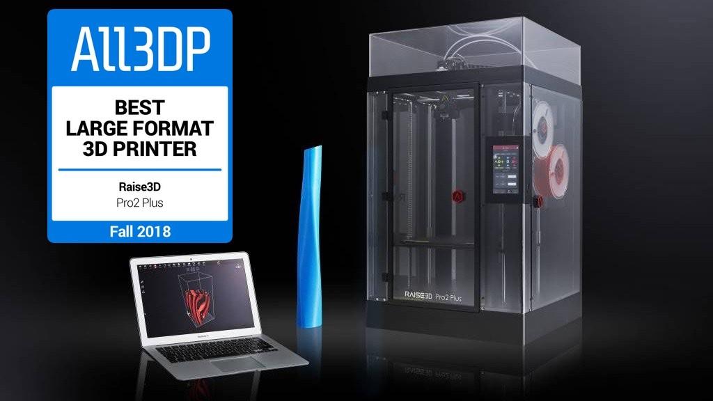 Featured image of 2018 Raise3D Pro 2 Plus Review – Best Large-Format 3D Printer