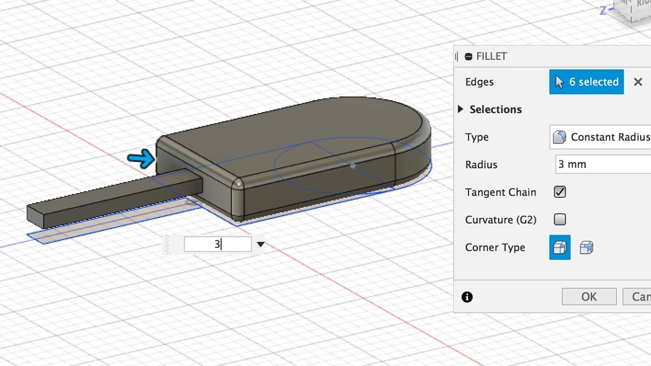 Featured image of Fusion 360 – 3D Printing Tutorial for Beginners