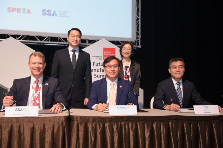 Image of 3D Printing Industry Report: Maritime 3D Printing Swims Ahead with Singapore Agreement