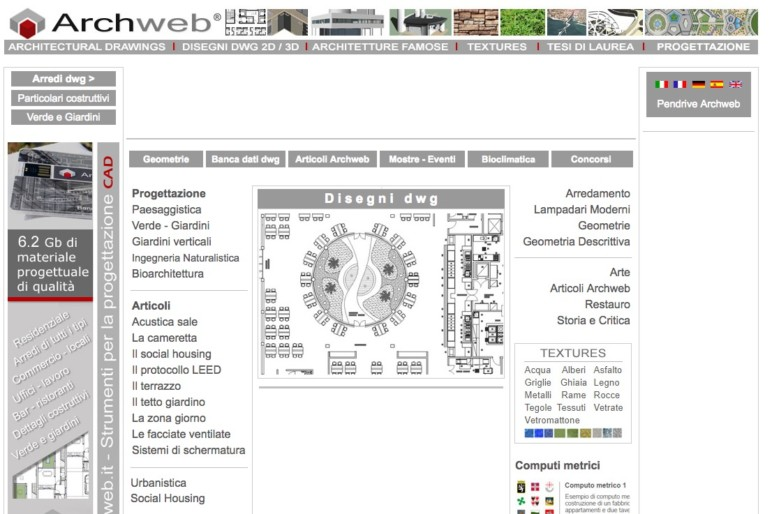 Image of 14 Best Sites to Download Free CAD Blocks: ArchWeb