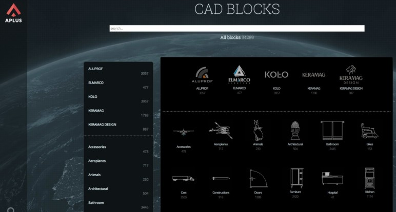 Image of 14 Best Sites to Download Free CAD Blocks: CAD APlus