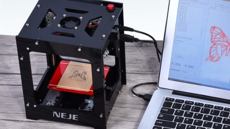 Featured image of 2018 NEJE DK-8-KZ – Review the Specs of this Laser Engraver