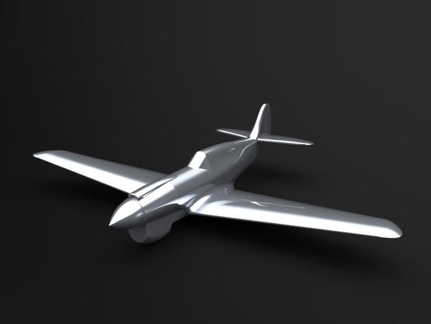 A CAD render of a 3D-printable model P40.