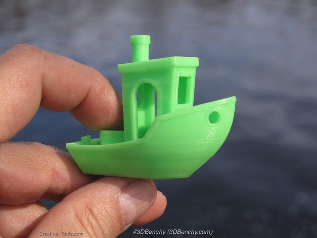 Image of: #1. 3D Benchy