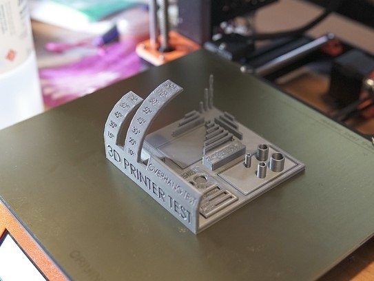 Image of: #2. All-In-One 3D Printer Test