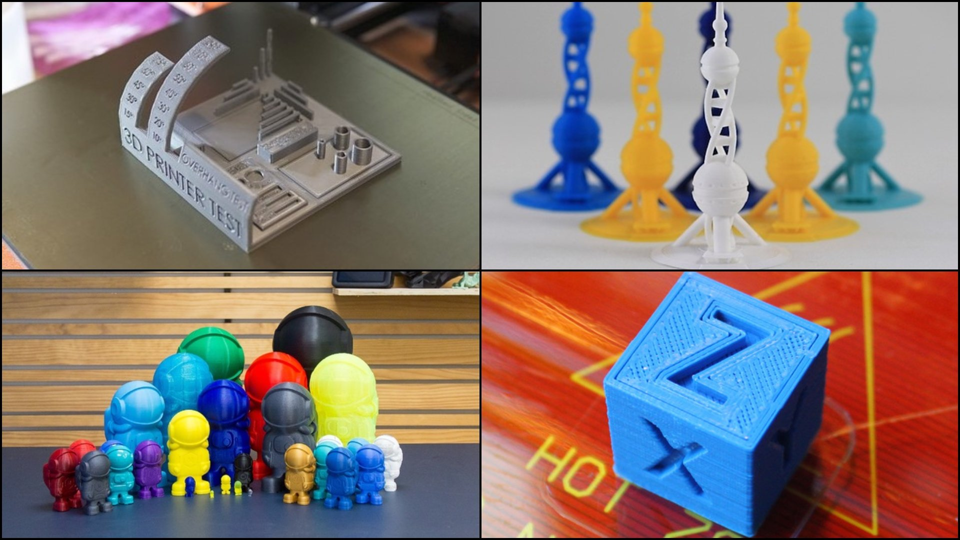 graphic regarding Printer Printable known as 3D Printer Try out Print: 10 Patterns toward Torture Your 3D Printer