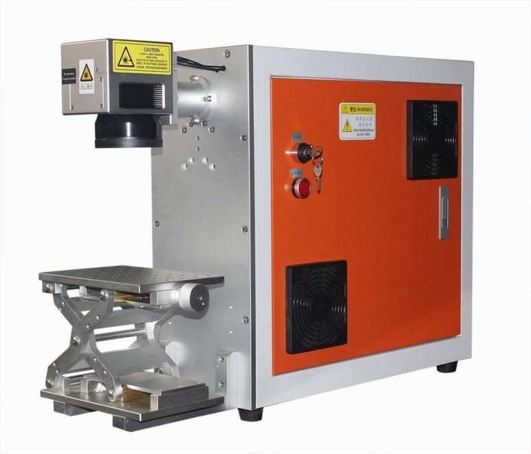 Image of Best Laser Marking Machines: TEN-HIGH Portable Fiber Laser Marking Machine