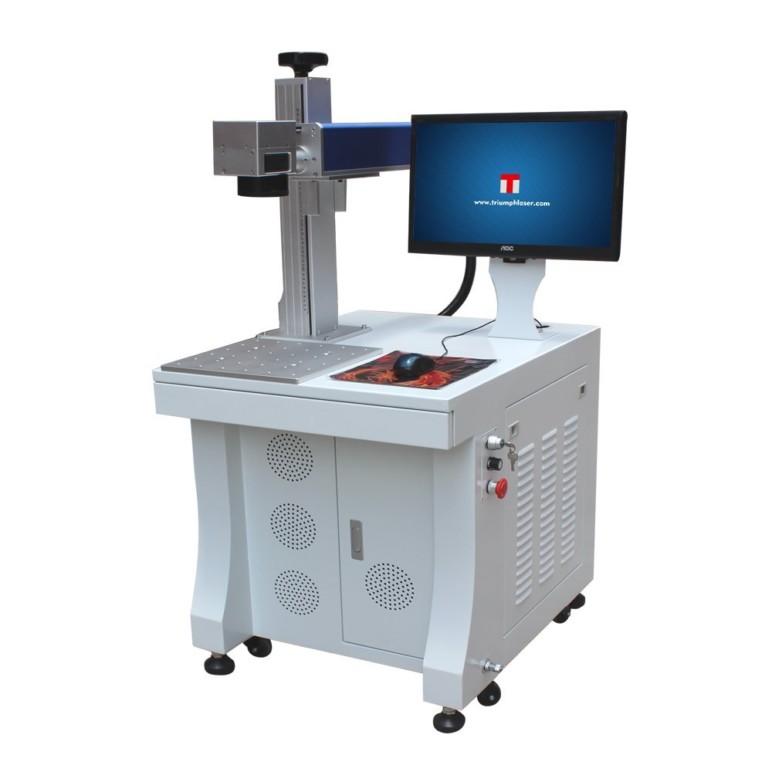 Image of Best Laser Marking Machines: Triumph Fiber Laser Marking Machine