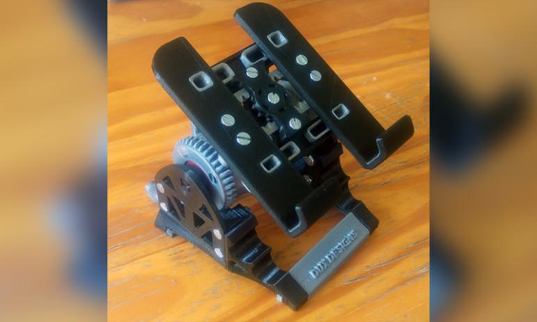 Image of Objets 3D utiles à imprimer en 3D: Emma - Support de téléphone gadget