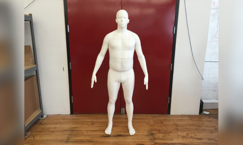 Image of Cool Things to 3D Print: Life-size Body Model