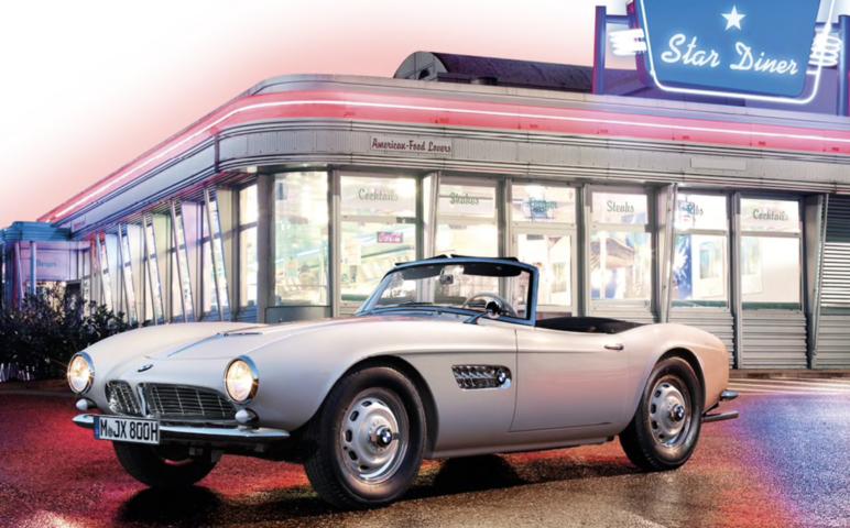 Image of: #3. Elvis's BMW 507