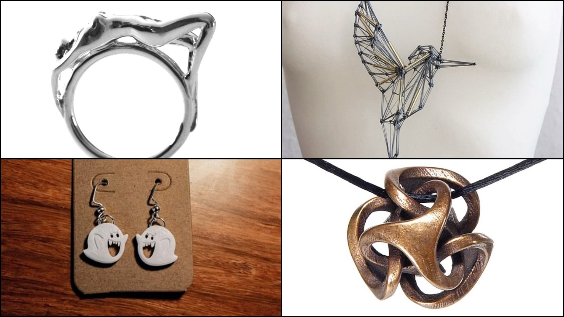 3D Printed Jewelry – 4 Best Places to Buy It | All3DP