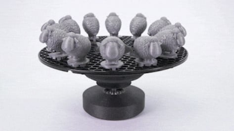 Featured image of Weekend Project: Reuse Old Filament Spools to Create a 3D Printed Zoetrope