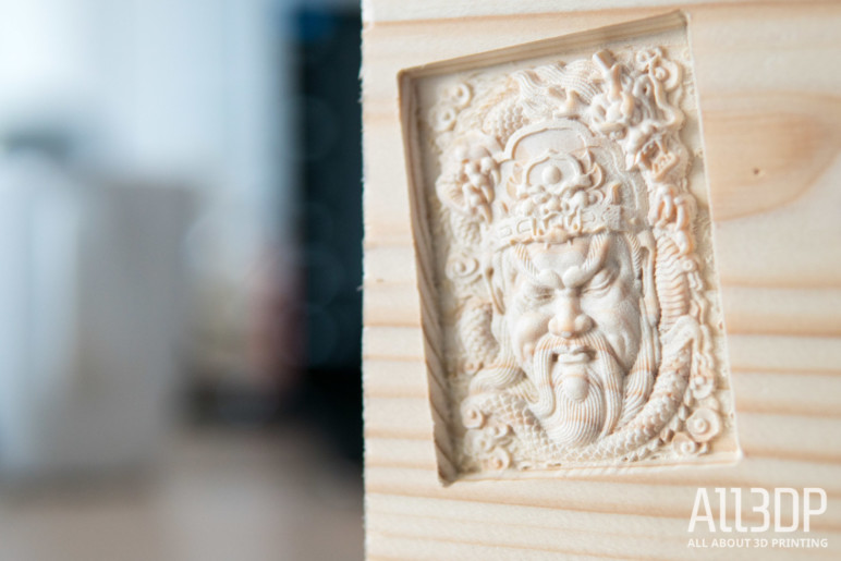 Image of Snapmaker 3-in-1 3D Printer Review: CNC Carving