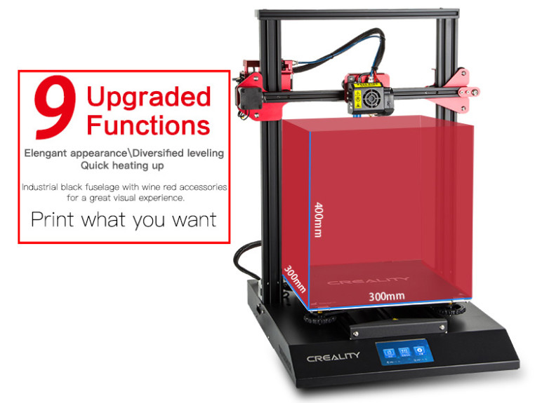 Image of Creality CR-10S Pro - Review the Specs: Features