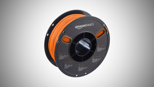 Featured image of [DEAL] Orange AmazonBasics PLA for 30% off