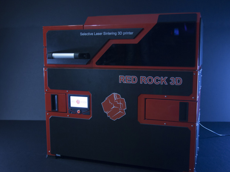 Image of SLS 3D Printer Guide: RED ROCK 3D VIT