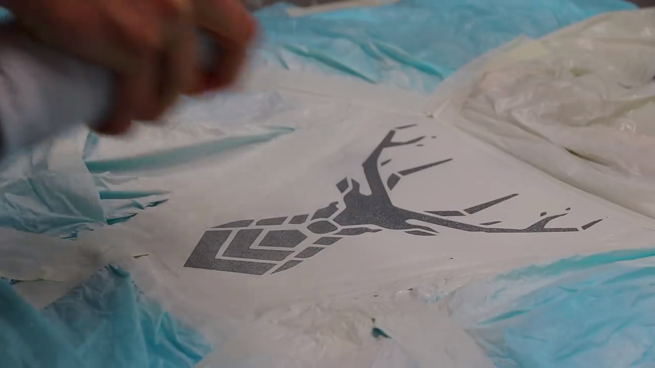 Project] Create a Custom T-Shirt with 3D Printed Stencils