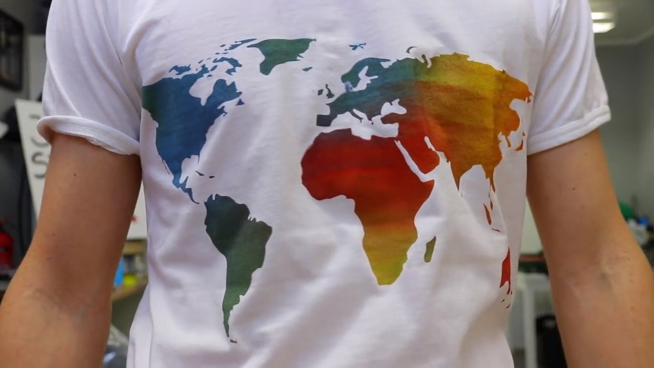 Weekend Project Create A Custom T Shirt With 3d Printed Stencils