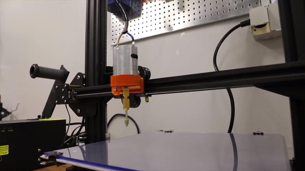 Instalación completa del grabador láser