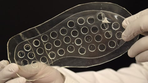 Featured image of 3D Printed Insole Speeds Up Healing Process of Diabetic Ulcers