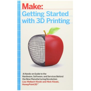 Product image of Make: Getting Started with 3D Printing