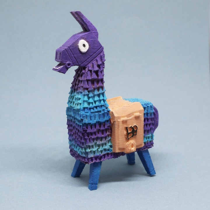 Image of Fortnite Props to 3D Print: Loot Lama