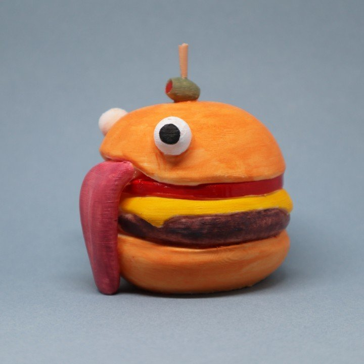 Image of Fortnite Props to 3D Print: Durr Burger