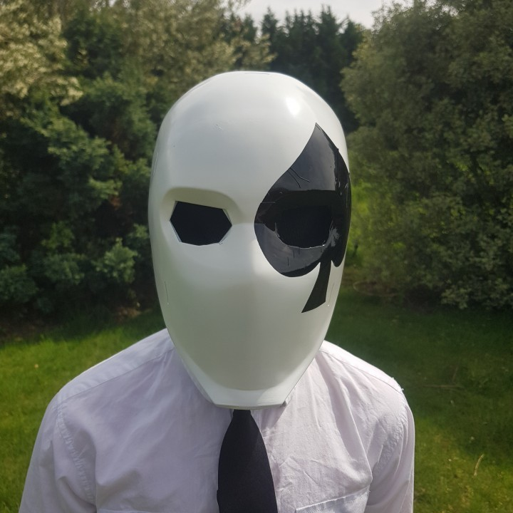 Image of Fortnite Props to 3D Print: High Stakes Wild Card Mask