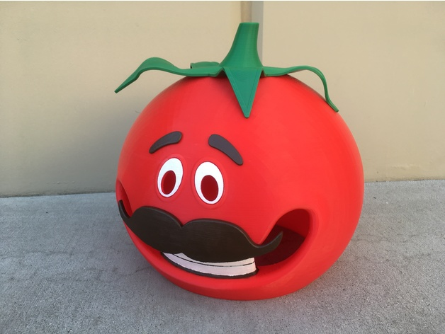 Image of Fortnite Props to 3D Print: Tomato Head Mask